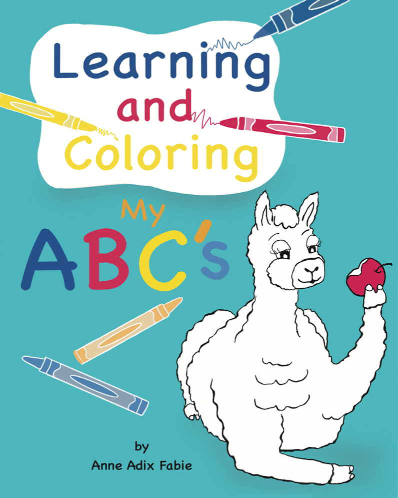 Early Learner Coloring Book for Children to Learn The ABCs